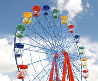 Гигантское колесо ferris на парке thr Стоковое Фото