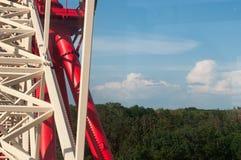 Гигантское колесо ferris против Стоковая Фотография RF