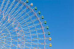 Гигантское колесо ferris фестиваля Стоковая Фотография RF