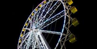Гигантское красочное колесо стоковое фото rf