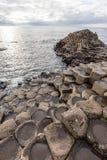 гиганты Ирландия мощёной дорожки северная Стоковое Изображение RF