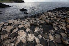гиганты Ирландия мощёной дорожки северная Стоковая Фотография RF