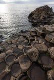 гиганты Ирландия мощёной дорожки северная Стоковое Фото