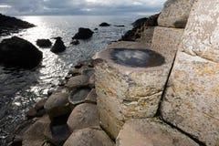 гиганты Ирландия мощёной дорожки северная Стоковые Фото