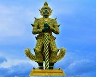 Гигант Будда в виске Стоковая Фотография RF