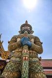 Гигант, грандиозный дворец, Wat Phra Kaew, Бангкок, Таиланд стоковые изображения rf