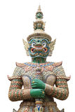 Гигант зеленого цвета в виске изумрудного Будды Стоковые Изображения