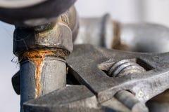 Гидравлическая установка ключа и воды Аксессуары для hydraul Стоковая Фотография