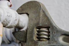 Гидравлическая установка ключа и воды Аксессуары для hydraul Стоковое Изображение
