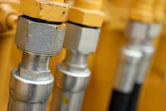 гидравлические трубопроводы Стоковые Изображения RF