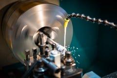 Гидравлическое машинное оборудование токарного станка стоковое фото