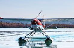 Гидросамолет в Аляске Стоковая Фотография RF