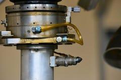 Гидротехник смазывают станцию на механическом инструменте на промышленном оборудовании Система смазки с маслом под давлением стоковые фото