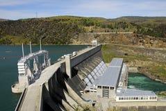 гидро новая электростанция zealand стоковое фото rf
