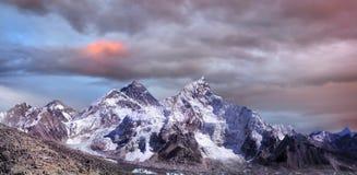 Гималаи, ландшафт гор Mount Everest, Непал стоковые фото