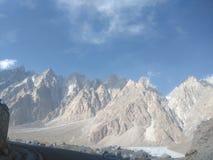 Гималаи на границе Пакистана Китая стоковая фотография rf