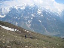 Гималаи trekking Стоковые Изображения RF
