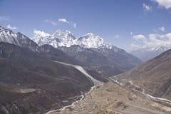 Гималаи trekking Стоковая Фотография