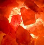Гималайская лампа соли стоковые изображения rf