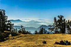 Гималайские горные цепи Стоковое Изображение RF
