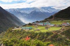 Гималаи, горы Стоковое Изображение
