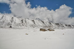 Гималаи около Kanchenjunga Стоковое Фото