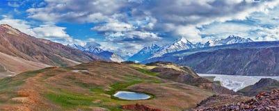 Гималайский ландшафт стоковая фотография
