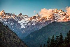 Гималайский пик Стоковое Изображение RF