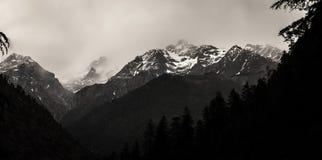 Гималайский пик Стоковая Фотография RF