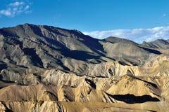 Гималайский ряд около пропуска FotoLa, Ladakh, Джамму и Кашмир, Индии Стоковая Фотография RF