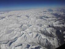 Гималайский ряд Стоковое Изображение RF