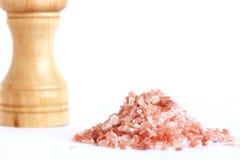 Гималайское кристаллическое соль стоковые изображения