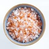 Гималайское розовое соль Стоковые Изображения