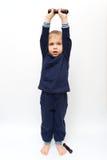 гимнастика гантелей Стоковое Изображение RF