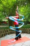 гимнастика искусства Стоковая Фотография