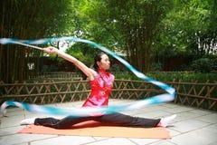 гимнастика искусства Стоковое Фото