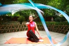 гимнастика искусства Стоковое фото RF