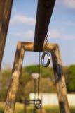 Гимнастика кольца Стоковые Изображения