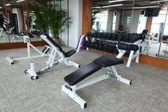 гимнастика оборудования Стоковое Фото