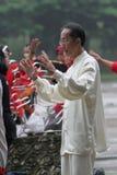 Гимнастика традиционного китайския Стоковые Фото