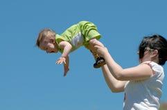 гимнастика outdoors стоковая фотография rf