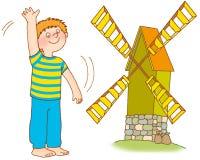 гимнастика s ребенка Стоковое Изображение