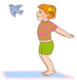 гимнастика s ребенка Стоковые Изображения