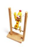 гимнастическая игрушка деревянная стоковая фотография rf