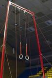 Гимнастические кольца спорта Стоковые Изображения