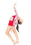 гимнаст девушки азиатского шарика красивейший Стоковое фото RF