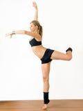 гимнаст девушки Стоковое фото RF