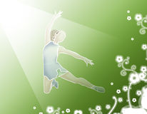 гимнаст Стоковое Изображение RF