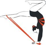 гимнаст бесплатная иллюстрация