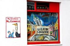 Гиннесс коммерчески в латинском квартале, Голуэй, Ирландии стоковая фотография